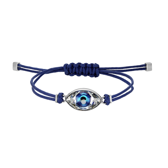 Swarovski Power Collection Evil Eye Bracelet, Blue, Stainless steel
