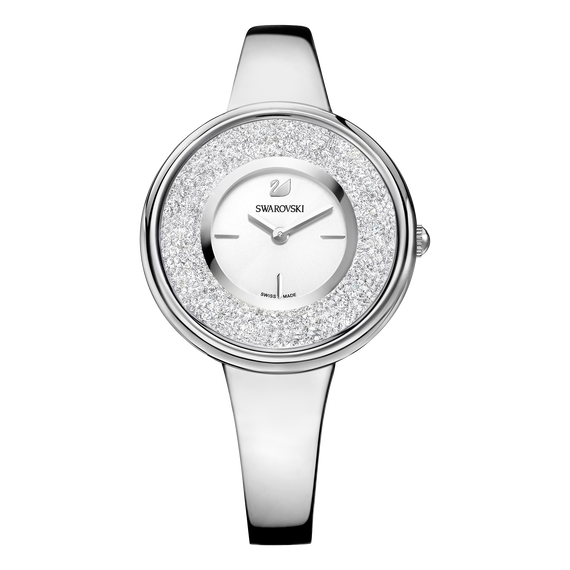 Crystalline Bracelet Watch, Stainless Steel
