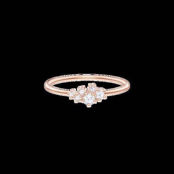 Penélope Cruz Moonsun Ring, White, Rose gold plating