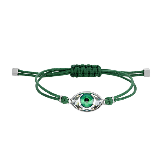 Swarovski Power Collection Bracelet, Green, Stainless steel