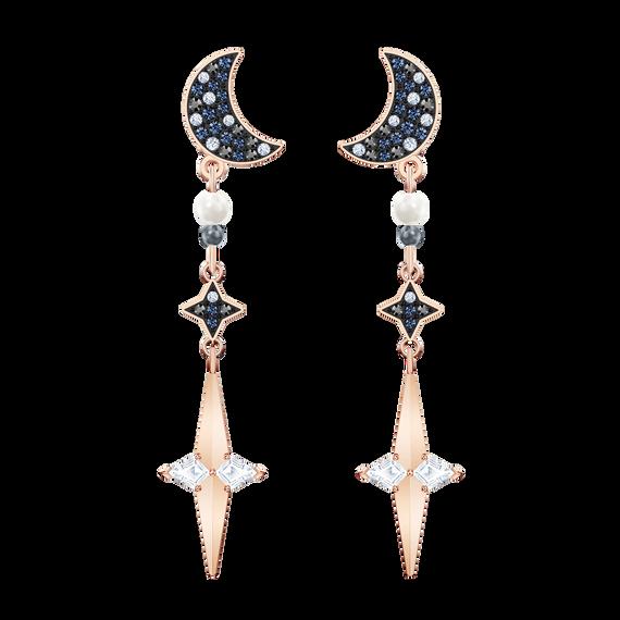 Swarovski Symbolic Pierced Earring Jackets, Multi-colored, Mixed metal finish
