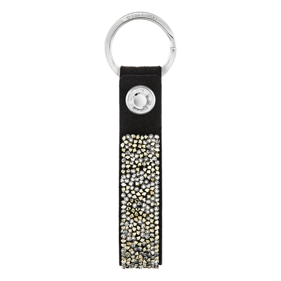 Glam Rock Key Ring, Black