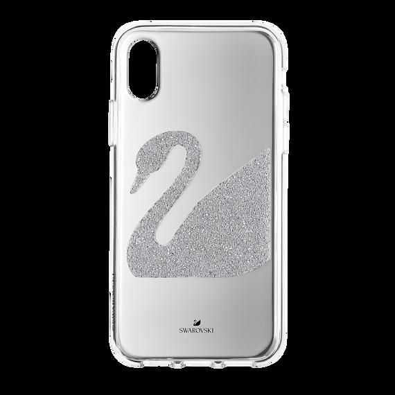 Swan Smartphone Case, iPhone® X/XS, Gray