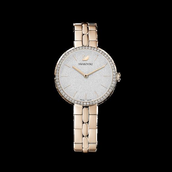 Cosmopolitan Watch, Metal bracelet, Gold tone, Champagne-gold tone PVD