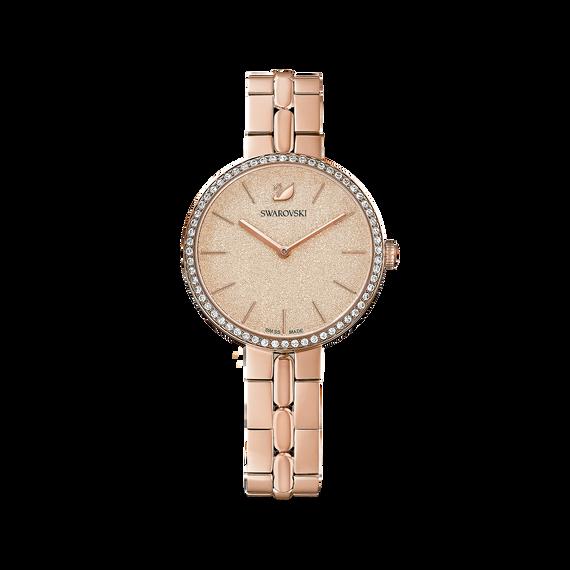 Cosmopolitan Watch, Metal bracelet, Rose gold tone, Rose-gold tone PVD